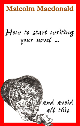 ebook cover for How to start writing your novel